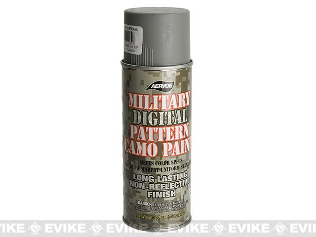 Aervoe Military Camo Spray Paint - Foliage Green / 12oz - (Ground Shipping Only, no Express/Air)