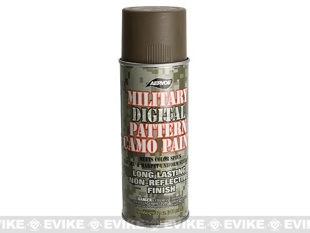 Aervoe Military Camo Spray Paint - Coyote / 12oz - (Ground Shipping Only, no Express/Air)