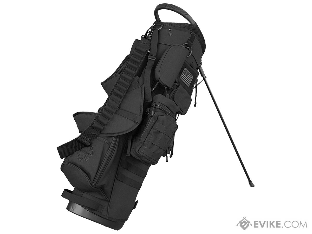 Tacticool BAMF Golf Bag - Expeditionary (Stealth Black)