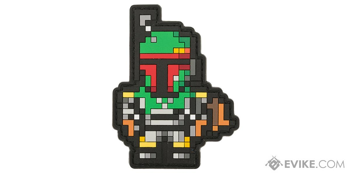 Aprilla Design PVC IFF Hook & Loop Patch - 8-Bit Boba V2