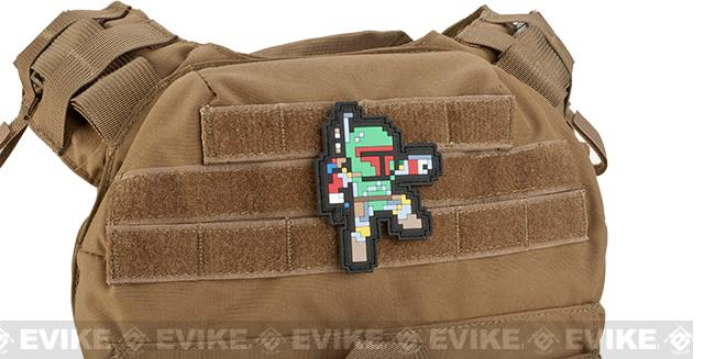 Aprilla Design PVC IFF Hook & Loop Patch - 8-Bit Bounty Hunter