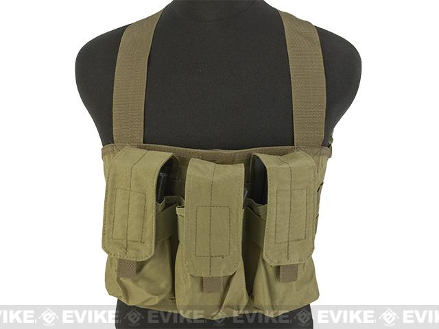 Gryffon Tactical Golem Chest Rig - Tan