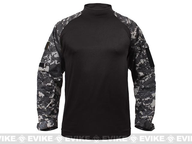 Rothco Tactical Combat Shirt - Subdued Urban Digital (Size: Medium)