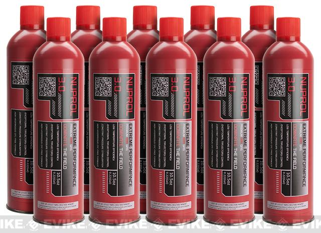 Nuprol 3.0 High Performance Premium Red Gas 10.5oz - 1 Case (10 cans)