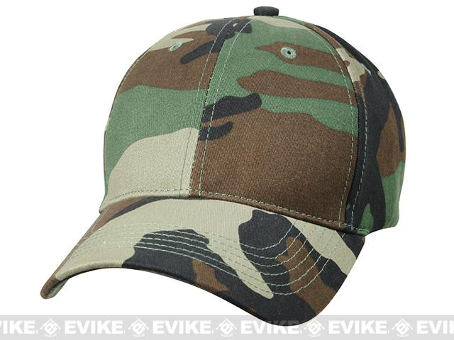 Rothco Kids Low Profile Tactical Cap - Woodland