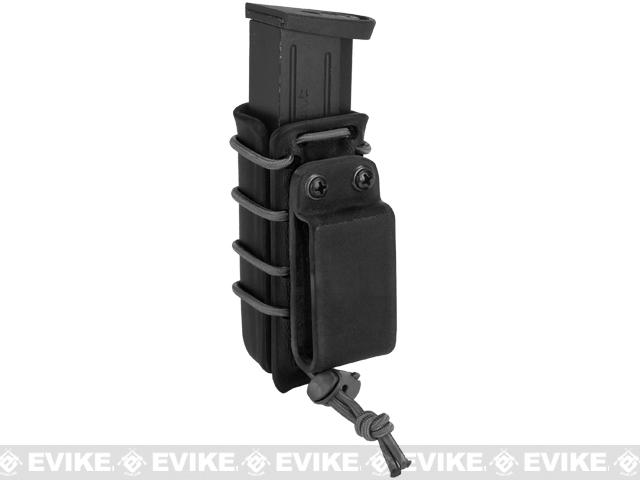 G-Code Scorpion Adjustable Double Stack Pistol Mag Carrier w/ Belt Loops - Black