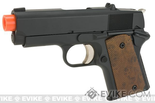 Bone Yard - ARMY R45 Combat Master Compact 1911 Gas Blowback Airsoft Pistol (Store Display, Non-Working Or Refurbished Models)