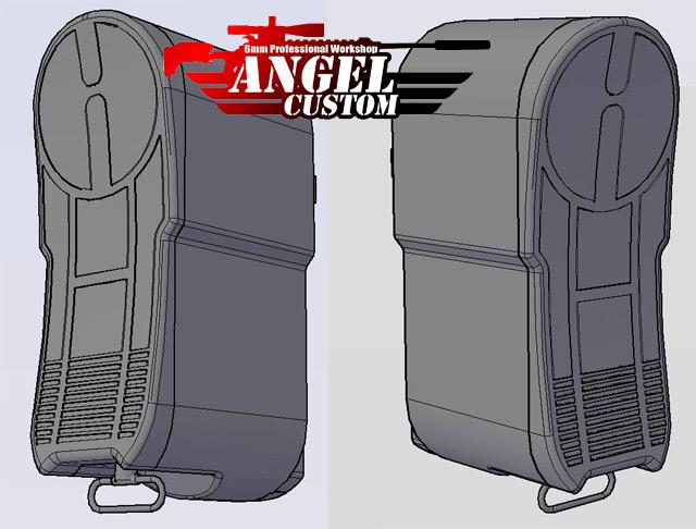 Angel Custom P90 High Speed Stock Extension w/ Sling Mounting Point