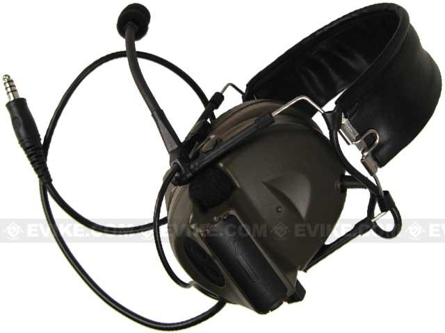 Matrix / Element Military Style Tactical Communications Headset Type-C