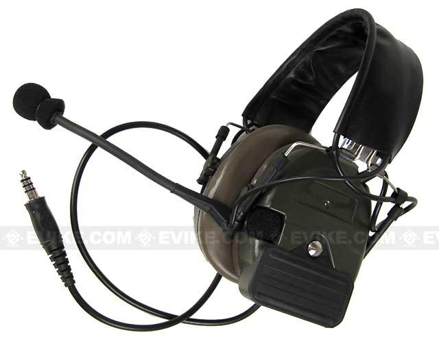 Matrix / Element Tactical Communications Headset Type-B