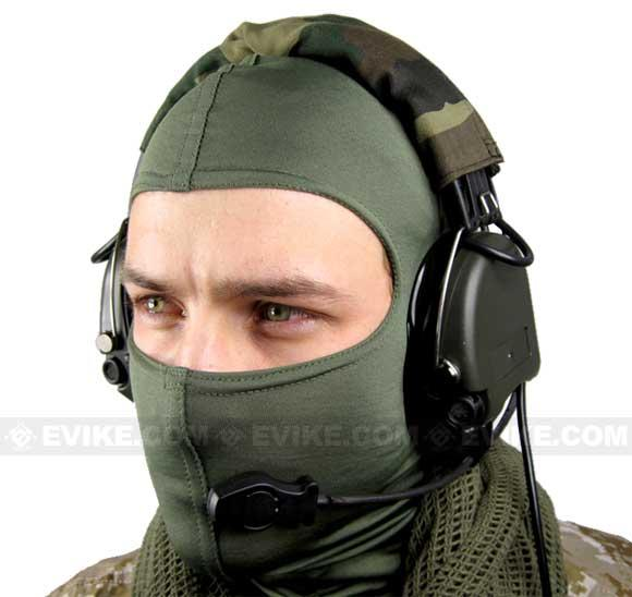 Matrix Military Style Tactical Communications Headset w/ Noise Cancelling System Type-E