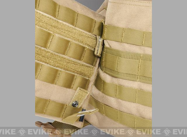 Hazard 4 MOLLE-PAL Mounting Joints For Webbing Systems - Black