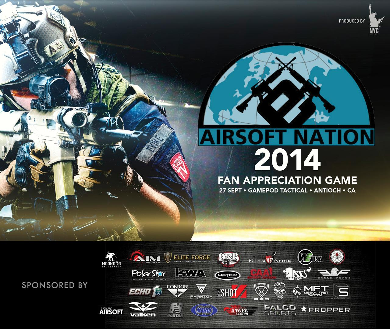 Operation Airsoft Nation Fan Appreciation Game (Sep. 27th, 2014. Antioch, California) - Bravo