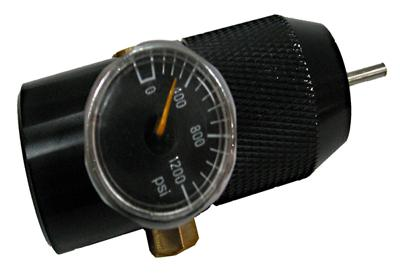 Thunder CO2 Cylinder Adapter with Pressure Meter Regulator