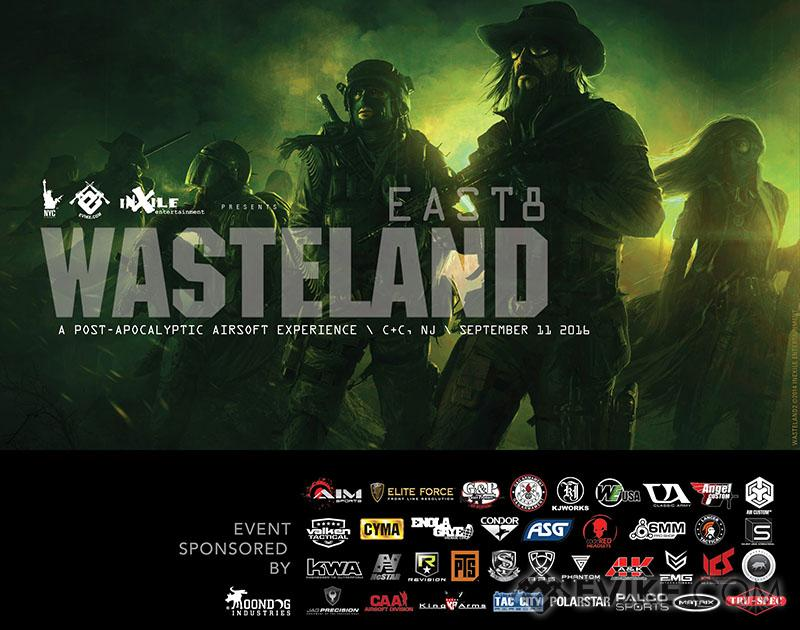 Operation Wasteland 8 EAST (9/11/16 Stanhope, New Jersey) - New Haven Mercs
