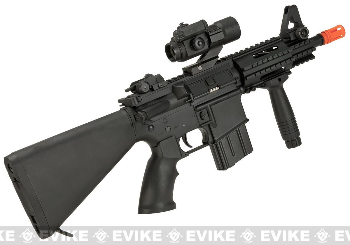A&K NS15 Full Metal Lipo Ready M4 CQB Alpha Stubby Killer Airsoft AEG Rifle