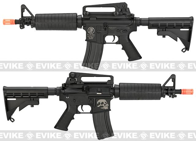 Bone Yard - A&K M4 Commando Airsoft AEG Rifle w/ Lipo Ready Metal Gearbox (Store Display, Non-Working Or Refurbished Models)
