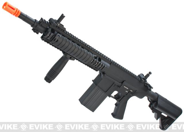 A&K Full Metal SR-25K Airsoft AEG Rifle w/ Crane Stock