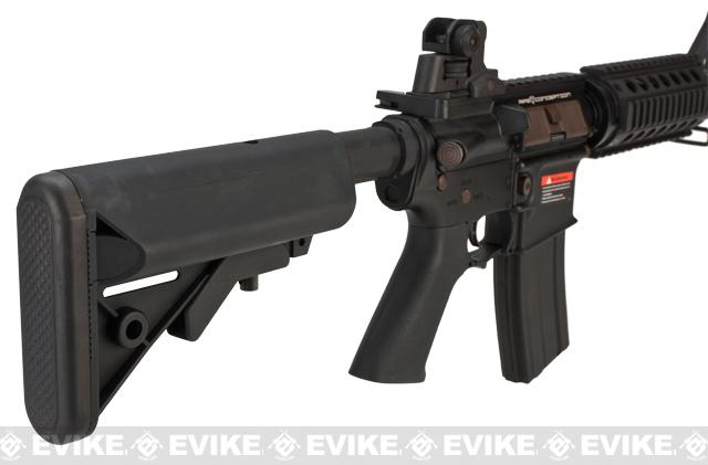 APS Full Metal M4 CQB Electric Blowback Airsoft AEG Rifle w/ Crane Stock (Newest Version)