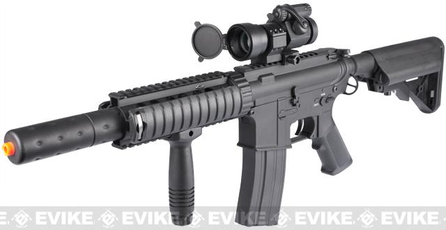New Gen. Dboy Full Metal M4 Airsoft AEG w/ Jungle Series CQB-SD Kit Installed