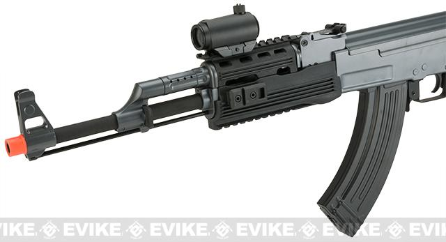 Matrix AK47 Tactical Airsoft AEG Rifle w/ RIS Handguard & Lipo Ready Metal Gearbox by CYMA - (Package: Gun Only)