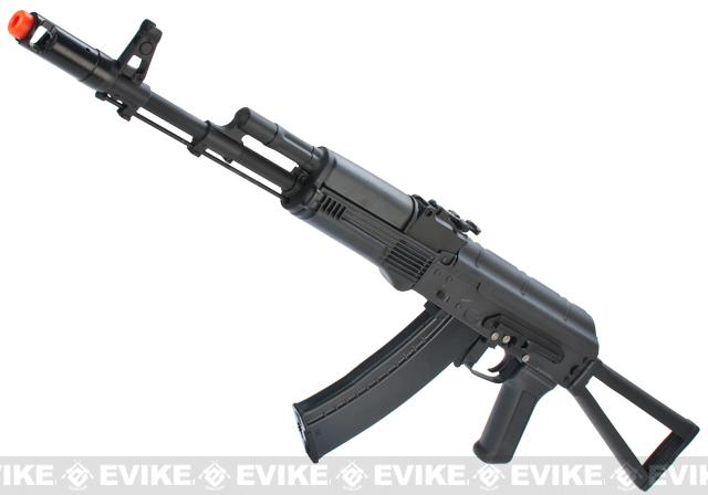 New Version Full Metal CYMA / Kalash AK-74 Airsoft AEG Rifle (with side Folding Stock)