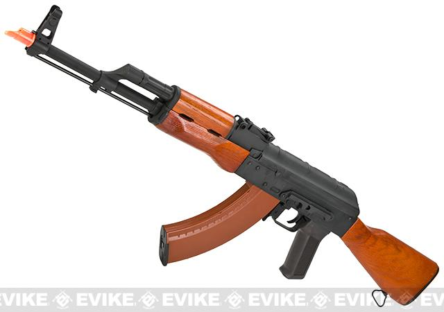 CYMA Full Metal AKM Airsoft AEG Rifle - Real Wood