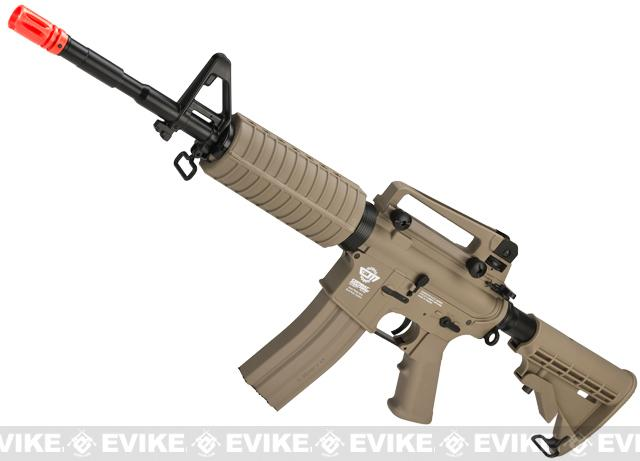 G&G Blowback GR16 DST Combat Machine Airsoft AEG Rifle (Tan)