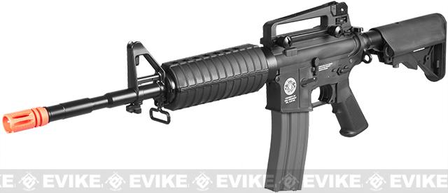 Evike.com Special Edition G&G Crane Stock CM16 Carbine Airsoft AEG Rifle (Package: Black / Gun Only)