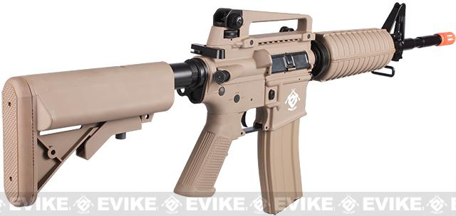 Evike.com Special Edition G&G Crane Stock CM16 Carbine Airsoft AEG Rifle - Tan (Package: Gun Only)