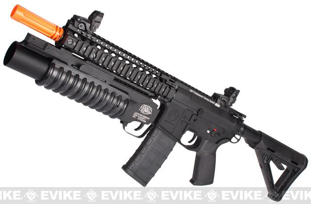 G&P Autobot M4 Airsoft AEG Rifle with Grenade Launcher (Black)