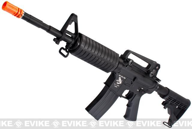 G&P M4 Carbine Airsoft AEG Rifle w/ Navy SEAL Skull Frog Receiver - (Package: Gun Only)