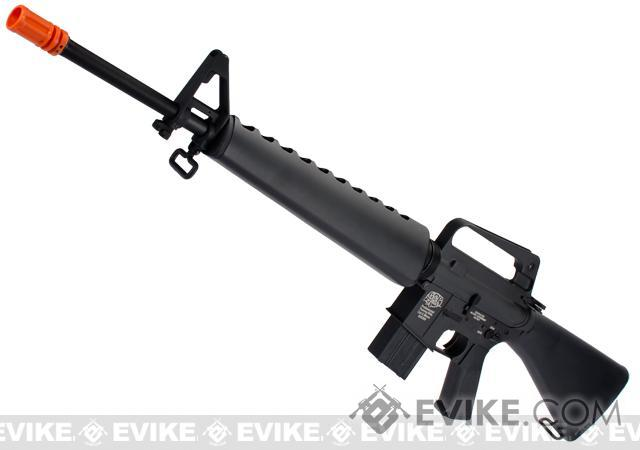 Bone Yard - G&P M16-A1 Vietnam Collection Airsoft AEG Rifle  (Store Display, Non-Working Or Refurbished Models)