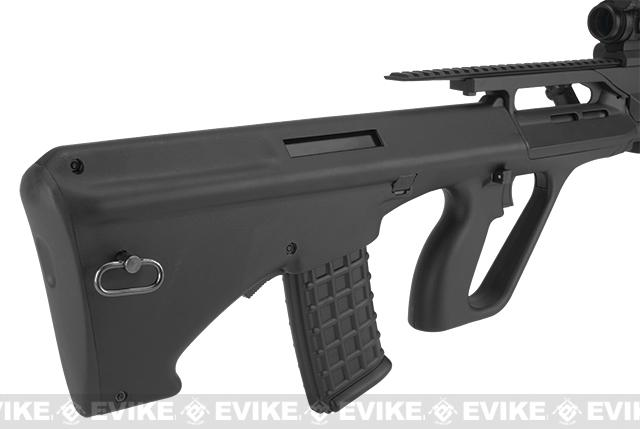 JG Custom Series AUG RAS Full Size Airsoft AEG Rifle - (Package: Rifle)