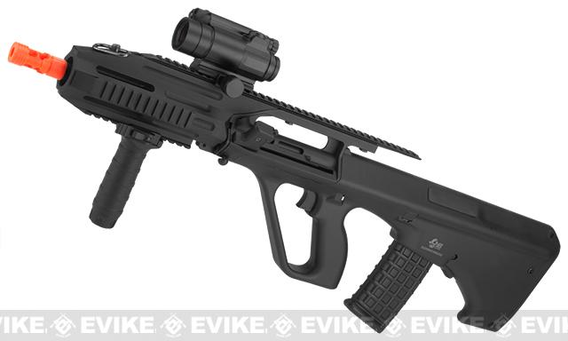 JG Custom Series AUG RAS Full Size Airsoft AEG Rifle
