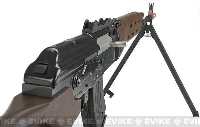 JG AK Type DMR Airsoft AEG Rifle with Integrated Bipod / Metal Gearbox
