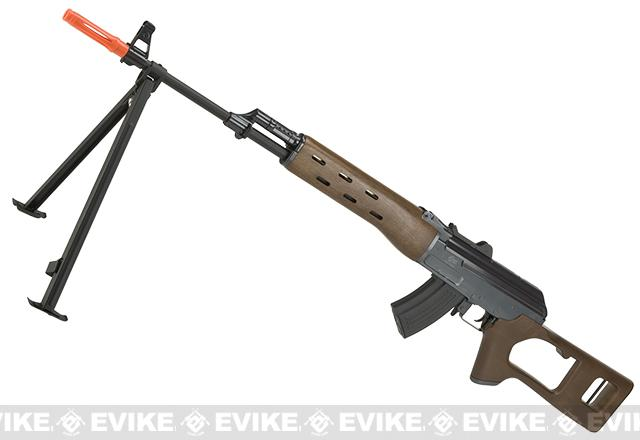 z JG AK Type DMR Airsoft AEG Rifle with Integrated Bipod / Metal Gearbox