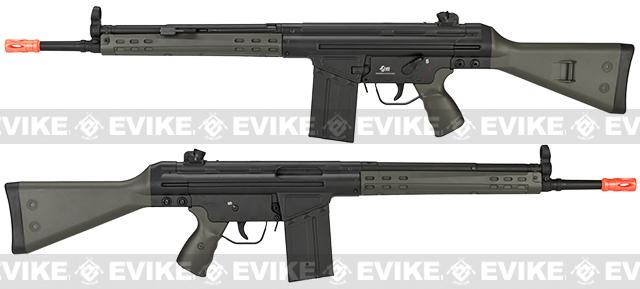 JG T3-K3 Full Size Airsoft AEG Sniper Rifle - OD Green (Package: Rifle)