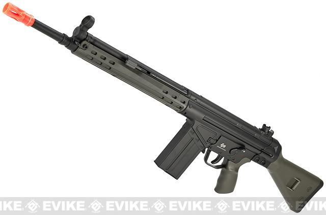 Pre-Order ETA May 2017 JG T3-K3 Full Size Airsoft AEG Sniper Rifle - OD Green (Package: Rifle)