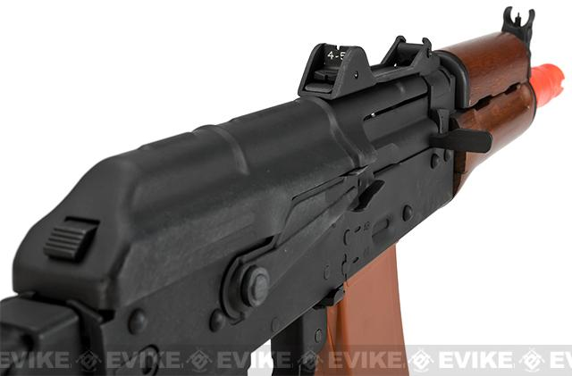 JG Electric Blowback AKS74U Folding Stock with Steel Receiver and Real Wood Furniture