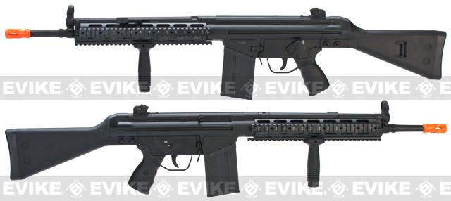 Pre-Order ETA June 2017 Matrix JG T3 RAS Marui Clone Airsoft AEG Rifle - Black (Package: Rifle)