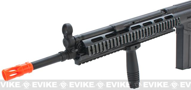 Matrix JG T3 RAS Marui Clone Airsoft AEG Rifle - Black (Package: Rifle)