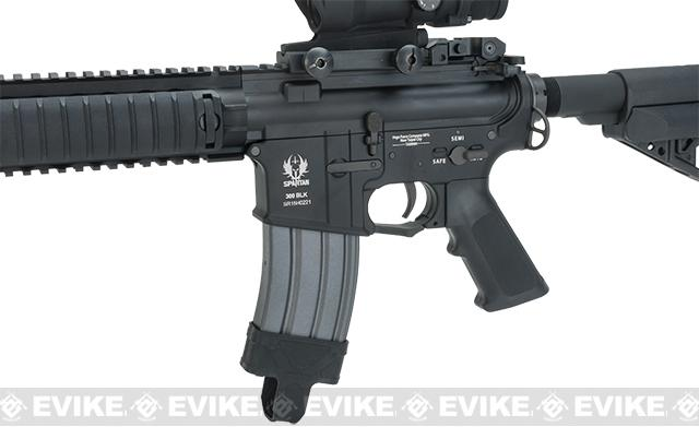 Spartan 9 SRX 306 Full Metal Airsoft AEG Rifle - Black