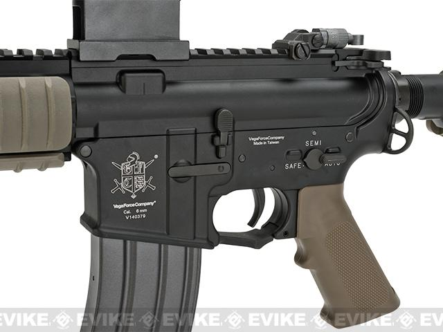 Pre-Order ETA August 2016 VFC M4 E-line Full Metal M4 Dagger Custom Airsoft AEG - Tan