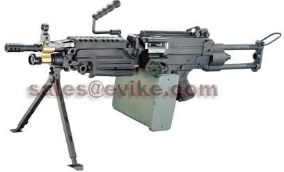 Bone Yard - A&K / Echo1 M249 Para Full Size Airsoft AEG (Store Display, Non-Working Or Refurbished Models)