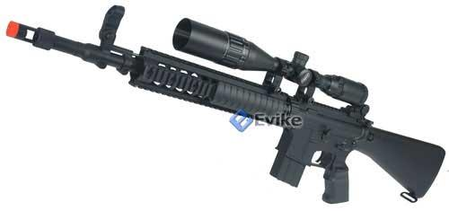 New Gen. Dboy Matrix Full Metal M16 Custom SPR Airsoft Sniper Rifle AEG