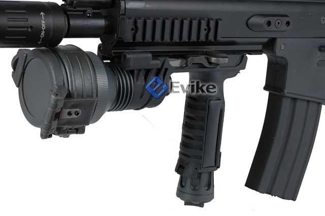 DBoy / AGM Full Metal MK16 Advanced Squad Carbine Airsoft AEG Rifle (Black)