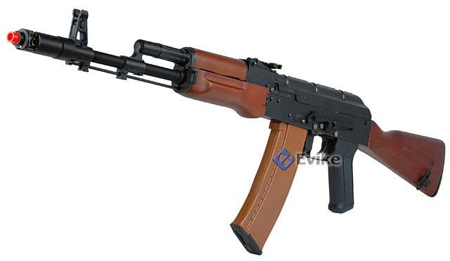 New Version Dboy RK-06 AK-74 Full Metal Real Wood Furniture Airsoft AEG with Full Stock