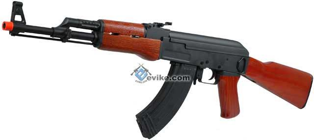 Pre-Order ETA October 2015 Kalashnikov Full Metal / Real Wood / Blowback AK47 Airsoft AEG by CYMA (CM046)