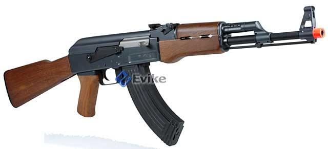 Bone Yard - CYMA / JG Full Size AK47 Airsoft AEG Rifle w/ Metal AK Gearbox (Store Display, Non-Working Or Refurbished Models)